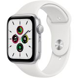 Apple Watch SE GPS, 44mm Silver Aluminium