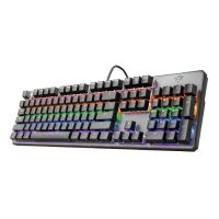 Trust GXT 865 Asta keyboard USB QWERTY Black