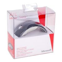 Microsoft Mouse Arc Mouse, 1200DPI, 2.4 [GHz], laser, 4but., 1 wheel, wireless, black, 2 pcs AAA