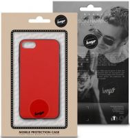Beeyo Glass Back Case For Huawei P Smart Red