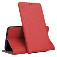 Mocco Smart Magnet Book Case For Samsung Galaxy A40 A405 Red
